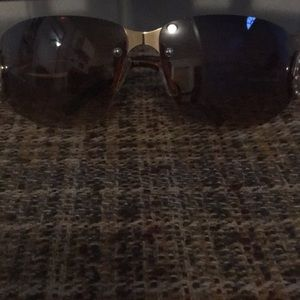 Rocawear brown studded sunglasses